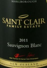Saint Clair label