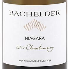 Bachelder Chard label