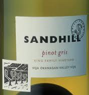 Sandhill Pinot Gris