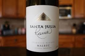 santa julia red