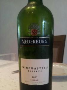 Nederburg label