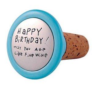 Birthday wine
