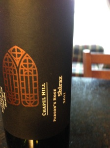 Chapel Hill Shiraz