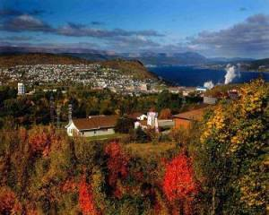 Corner brook fall