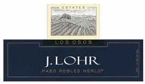 J. Lohr Merlot label
