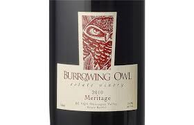 Burrowing owl Meritage