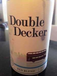 Double Decker wine