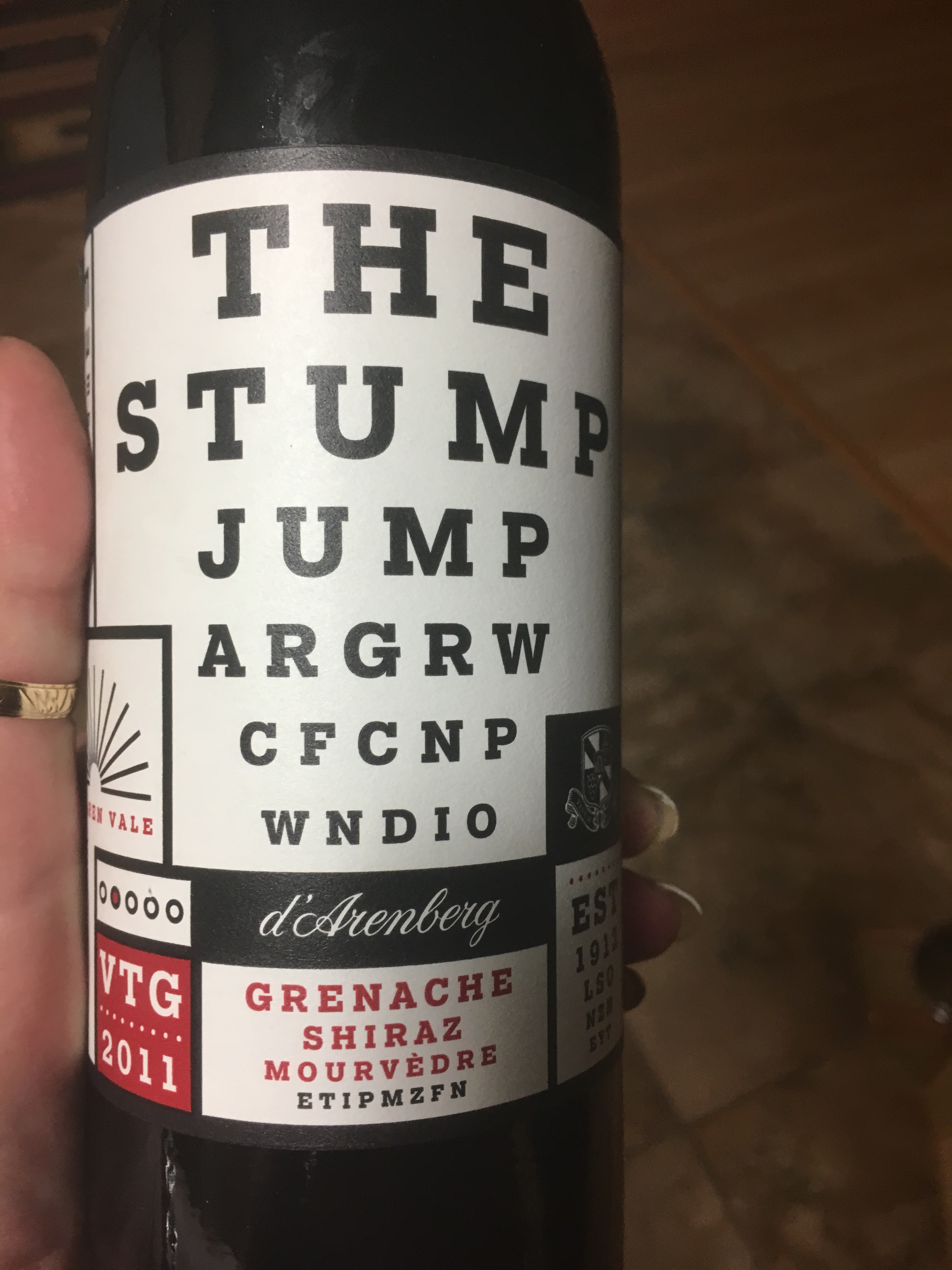 November 2016 wine in my opinion i know it looks like an eye chart maybe its a test for when you finish the bottle but this was a fantastic wine and because this time of the year can geenschuldenfo Gallery