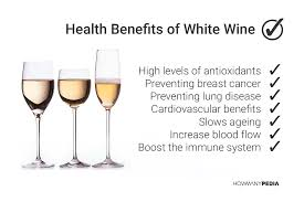 White wine benefits
