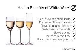 White wine benefits