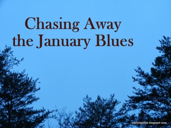 Beat the january blues