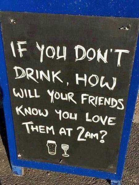 Wine text drunk