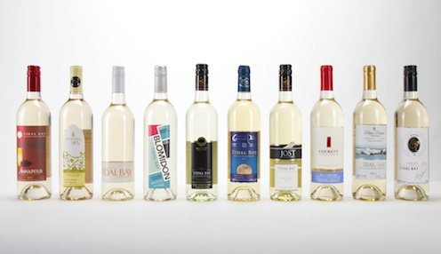 Tidal Bay wines