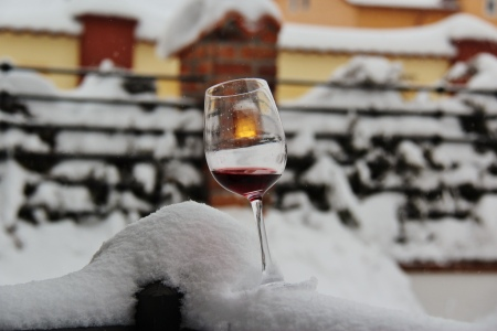 Winter and wine