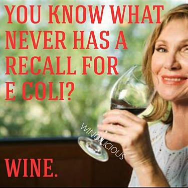 No recall on wine