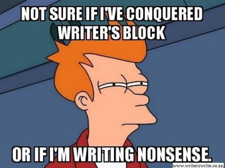 The Writer's Block Wine Blog