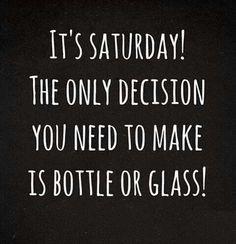 Wine Saturday 1