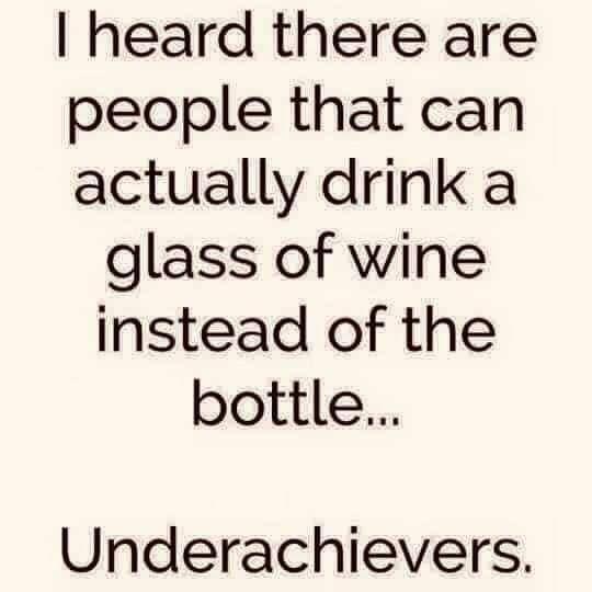Wine Underachievers