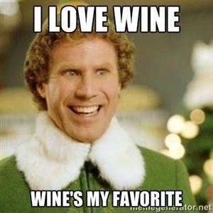 I love wine