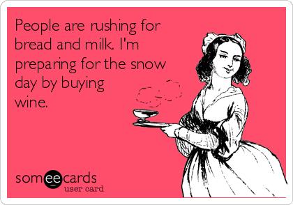 Snow wine
