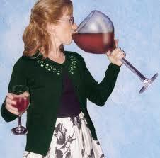 Big wine glass