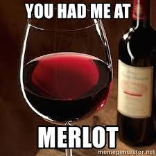 You had me at merlot - red wine | Meme Generator